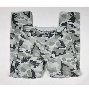 "Levis Black Gray White Camouflage Jeans 30""x30"""